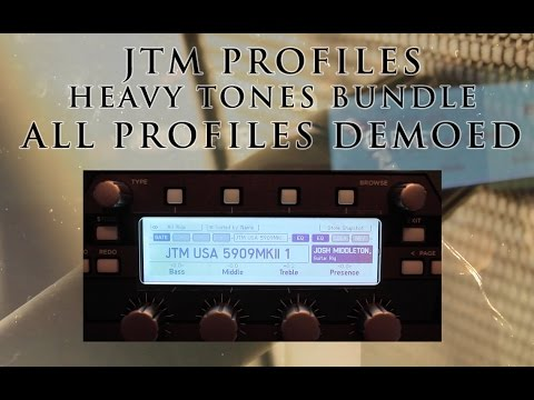 JTM PROFILES - ALL PROFILES DEMOED