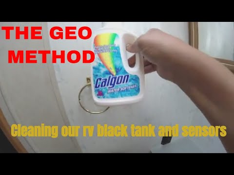 cleaning RV black tank with the GEO method, and new GoPro  mount