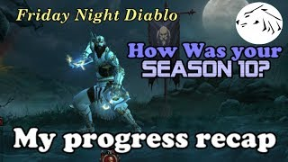 Diablo 3 - How was your Season 10 - My Gear and Progress Review for S10
