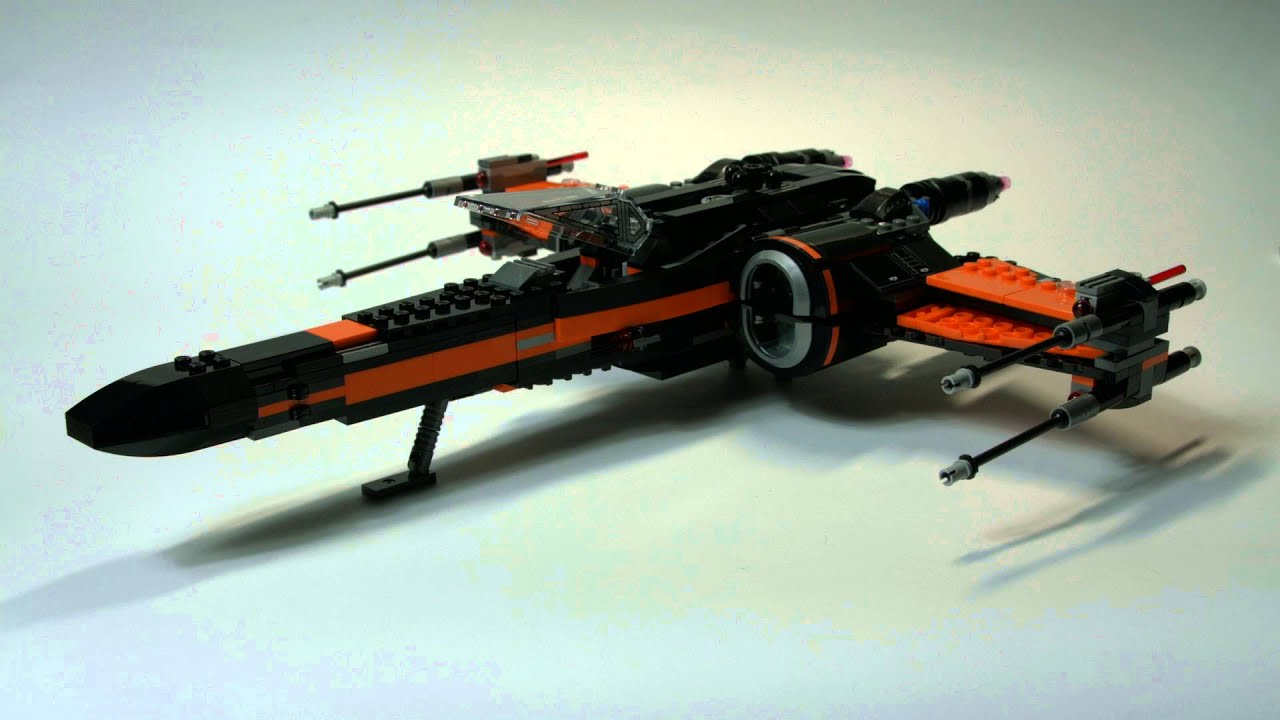 Lego star wars poe s x wing fighter review 75102 youtube - Lego Star Wars Poe S X Wing Fighter 75102 Review Pl