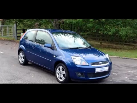 2007 07 ford fiesta 1 4 zetec climate 3 door ocean. Black Bedroom Furniture Sets. Home Design Ideas