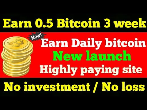 Earn unlimited free bitcoin daily | no investment