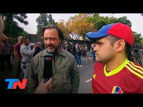 """Argentino """"le explicó"""" su postura a un venezolano que reclamaba por su país"""