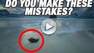 LANDSCAPE PHOTOGRAPHY  MISTAKES 📷   Do you make these? Benjamin Jaworskyj
