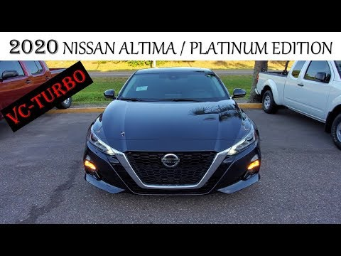 2020 NISSAN ALTIMA PLATINUM EDITION WITH VC - TURBO