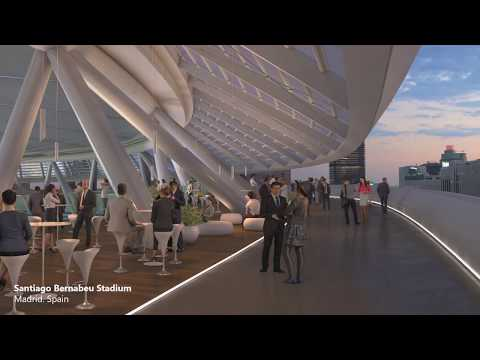 L35 bring their case study of bringing the new Real Madrid Bernabeu Stadium to life - LIVE 2020