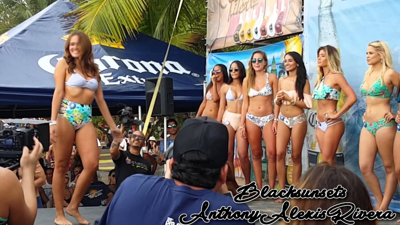 Treat circuit girl bikini contest hot