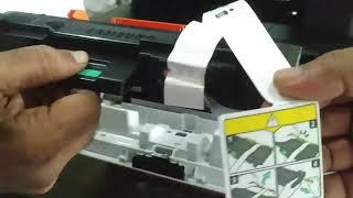 Kite - Samsung X press laser M 2876ND Un boxing & Toner inserting Video