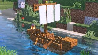 Minecraft Boot bauen - Minecraft Schiff bauen deutsch | Tutorial Deutsch