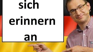 Słowo Na Dziś Sich Erinnern An Język Niemiecki Gerlic Pl