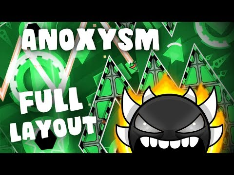 Anoxysm - (Extreme Demon) Full Layout and Preview - Geometry Dash 2.11