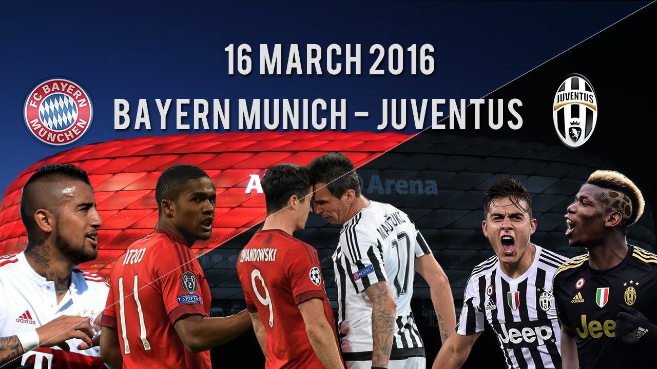bayern m nchen vs juventus promo champions league believe 2016 hd youtube. Black Bedroom Furniture Sets. Home Design Ideas