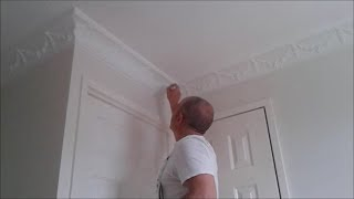 The Best Way To Paint Patterned Coving