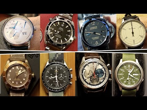 REVIEWING a Well Assembled 8-Piece Watch Collection :: COLLECTION REVIEW