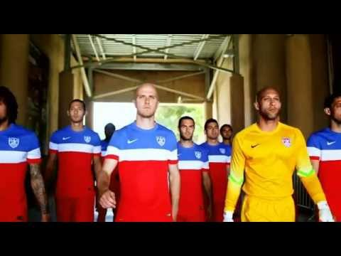 Game 1 Intro, USA vs Ghana, Group of Death G -- 2014 World Cup, Kiefer Sutherland