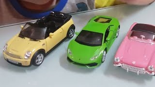 WELLY CARS toy cars for children with ice cream video for kids