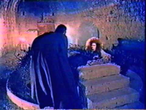 Candice Bergen as evil Morgan Le Fay