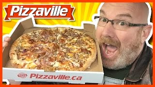 Bacon Cheeseburger Pizza from Pizzaville Review
