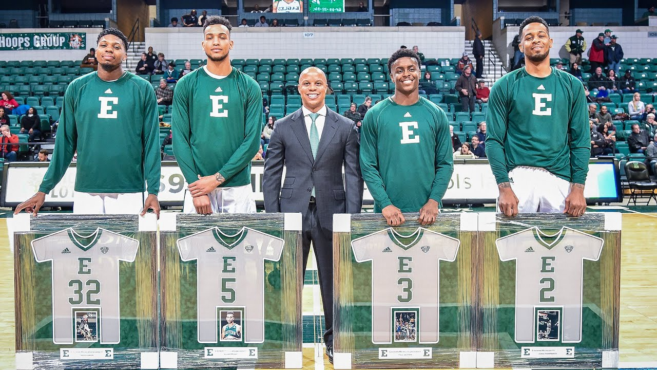 BEST OF JAMES THOMPSON IV AT EASTERN MICHIGAN! DOUBLE DOUBLE MACHINE!