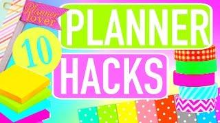 10 Planner Hacks, Tips & Essentials   Paris & Roxy