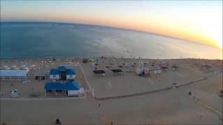 Пляж пансионата Селена. Анапа, июнь 2016