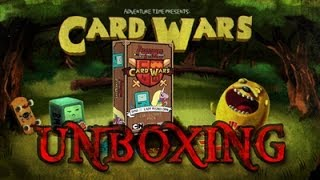 Adventure time card wars | bmo vs lady rainicorn unboxing