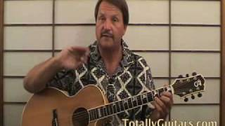 Learn Harvest Neil Young acoustic guitar lesson Preview