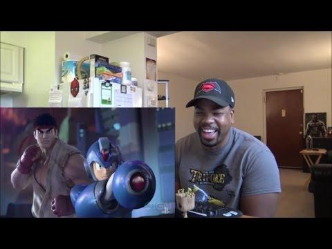 Marvel vs. Capcom Infinite Reveal Trailer - PSX 2016 - REACTION!!!
