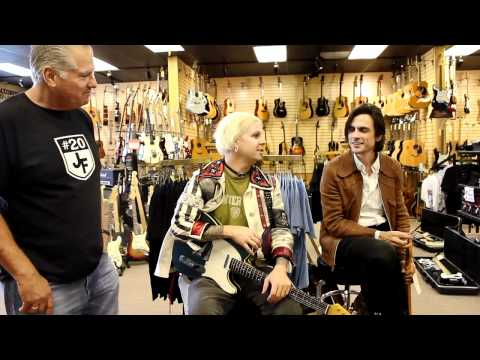 John 5 from Rob Zombie and Brian Bell from Weezer  at Norman's Rare Guitars