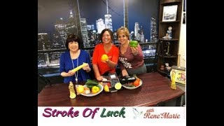 Getting You Healthy, Naturally! ~ Dr. Roxanne Carfora - September 8 ~ ReneMarie Stroke of Luck Show!