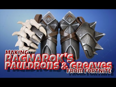 Making Ragnarok's Pauldrons & Greaves From Fortnite