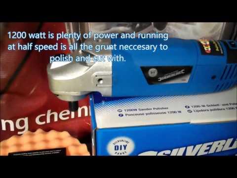 Silverline DIY Machine Polisher Package