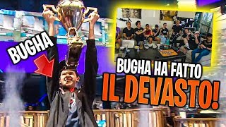 BUGHA HA FATTO IL DEVASTO! | FORTNITE WORLD CUP LIVE REACTION