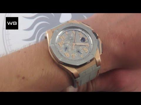 """Audemars Piguet Royal Oak Offshore """"LeBron James"""" Limited Edition Luxury Watch Review"""
