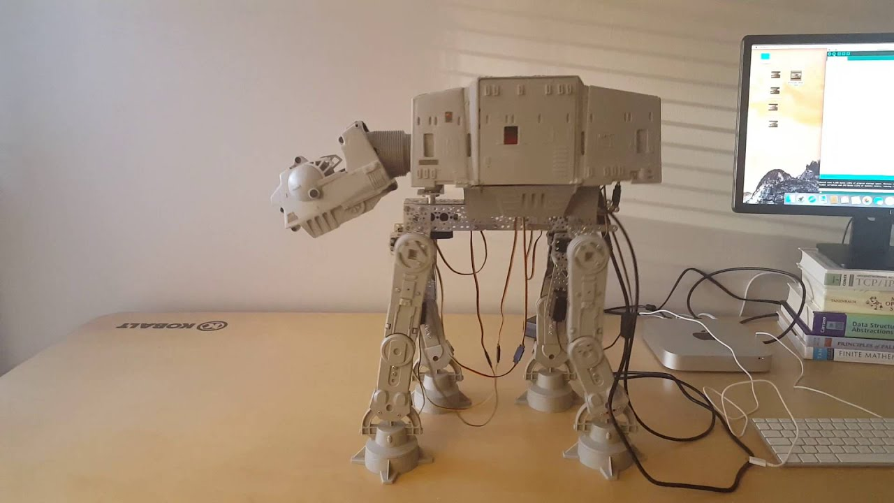 At-At Walker Project - Arduino powered Xbox 360 controller