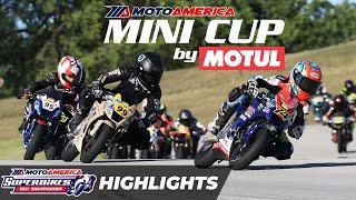 Mini Cup by Motul Championship Round One Race Recap: 110 Class