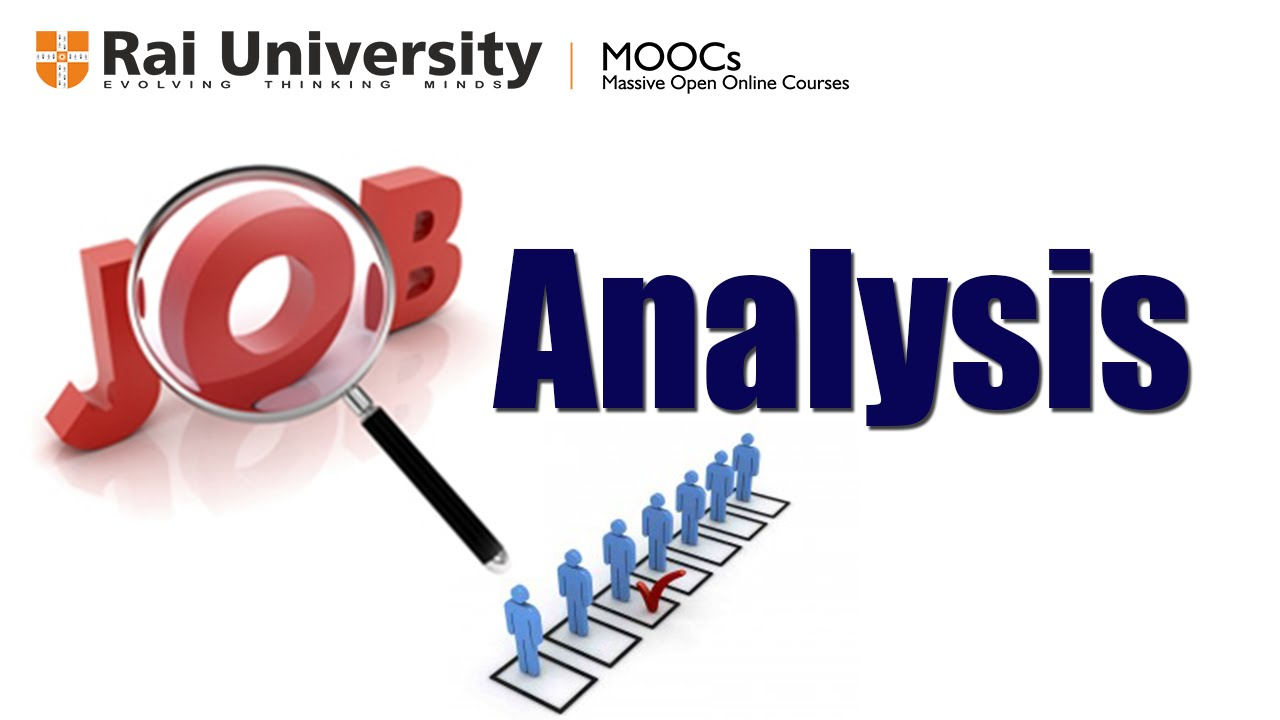 job analysis and job design Job analysis and design chapter exam instructions choose your answers to the questions and click 'next' to see the next set of questions you can skip questions if you would like and come back to.
