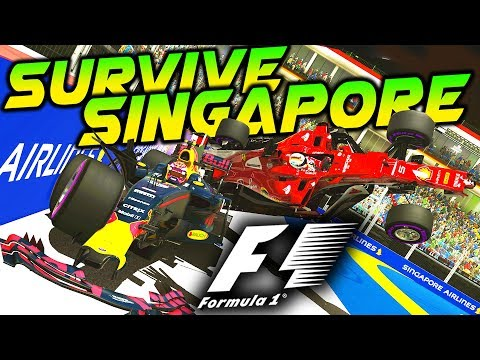 SURVIVE SINGAPORE - F1 2017 Extreme Damage Mod F1 Game