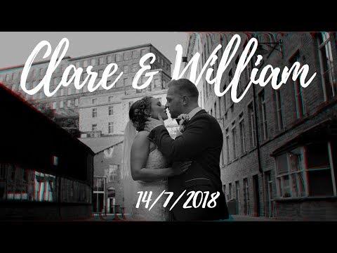 Clare & William at Dean Clough Mills