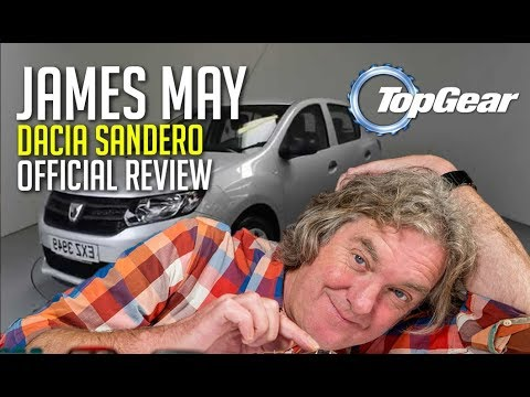 Legendary Dacia Sandero — James May official review… and it didn't go well