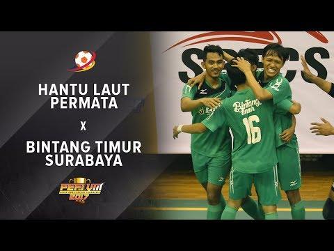 HANTU LAUT PERMATA (4) vs (9) BINTANG TIMUR SURABAYA - PEFI 2017