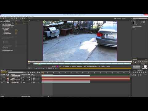 Element 3d/ 3d camera tracker After Effects tutorial!