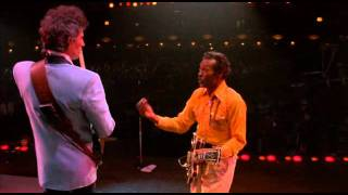 With Julian Lennon. Hail! Hail! Rock 'n' Roll (Chuck Berry) 1987.
