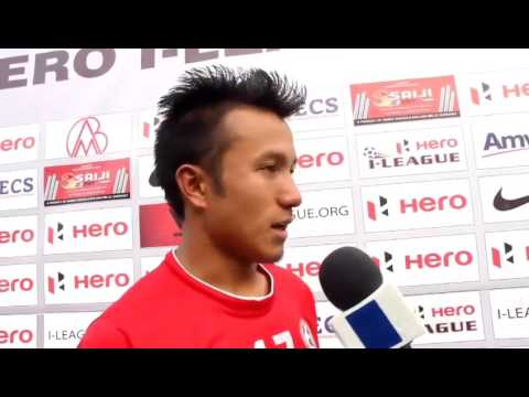 Ileague 2017 AIZAWL FC vs EAST BENGAL Man of the Match Post Match Interview