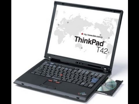 Complete strip down and rebuild of IBM ThinkPad T42 for servicing or replacing parts