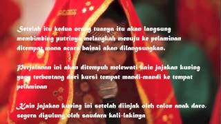 Prosesi nikah adat Suku Minangkabau