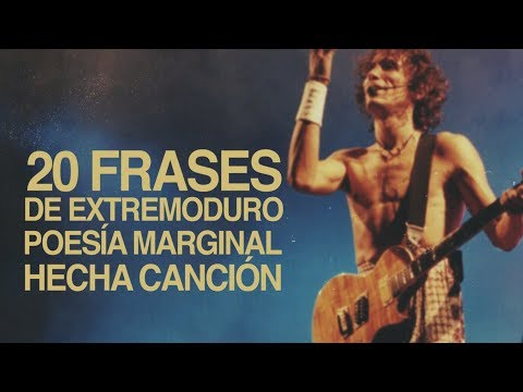 20 Frases de Extremoduro, poesía marginal hecha canción 🎸