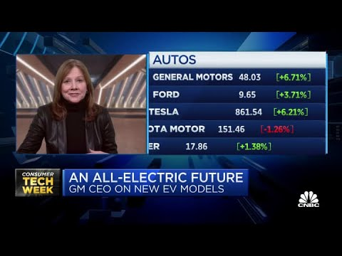 General Motors CEO on the company's electric vehicle future