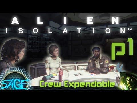 Alien: Isolation, Crew Expendable (Part #1)