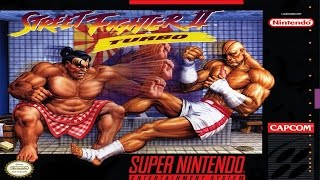 Street Fighter II Turbo - Hyper Fighting - Intro and Character Profiles (SNES)